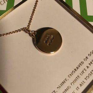 "kate spade Jewelry - RETIRED! Kate Spade Idiom Necklace - ""Make Waves"""
